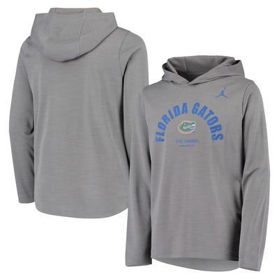 Florida Youth Jordan Brand Long Sleeve Hooded Tee