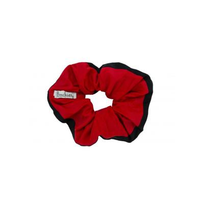 Pomchies Black and Red Hair Scrunchie