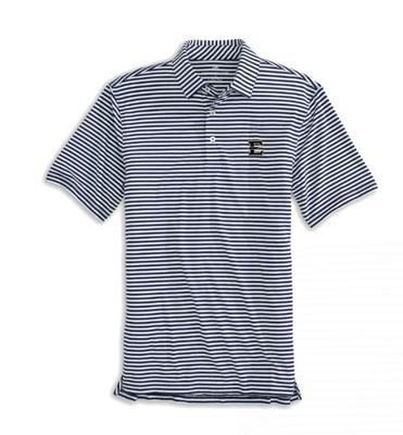 ETSU Southern Tide Men's Driver Stripe Polo