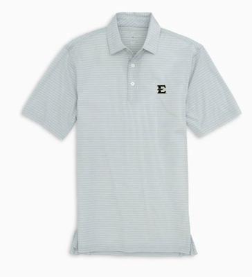 ETSU Southern Tide Men's Brrr Driver Stripe Polo