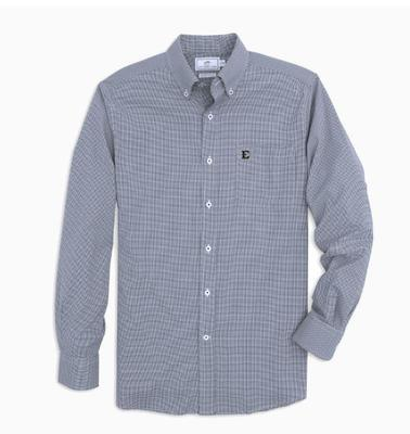 ETSU Southern Tide Men's Intercoastal Gingham Sport Shirt