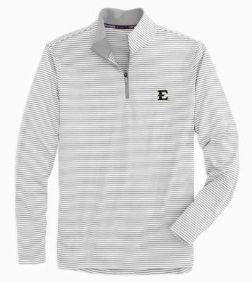 ETSU Men's Tonal Stripe Performance 1/4 Zip Pullover