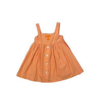 Tennessee Toddler JillianGingham Ruffle Dress