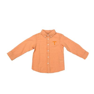 Tennessee Toddler Gingham Long Sleeve Woven Button Down