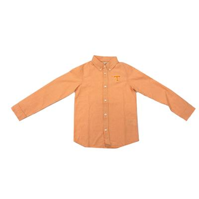 Tennessee Youth Gingham Long Sleeve Woven Button Down