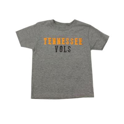 Tennessee Toddler Tennessee Vols Short Sleeve Tee