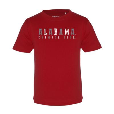 Alabama Toddler Alabama Crimson Tide Short Sleeve Tee
