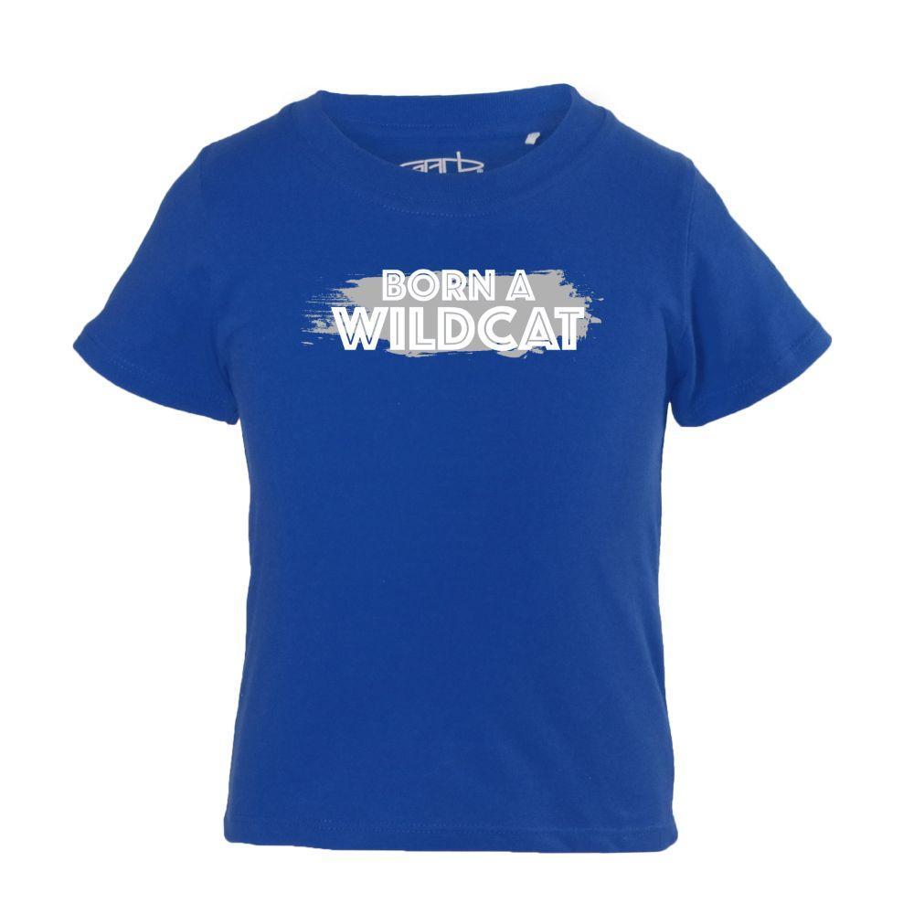 Kentucky Infant Born A Wildcat Fan Short Sleeve Tee