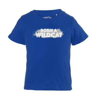 Kentucky Infant Born a Wildcat Fan Short Sleeve Tee