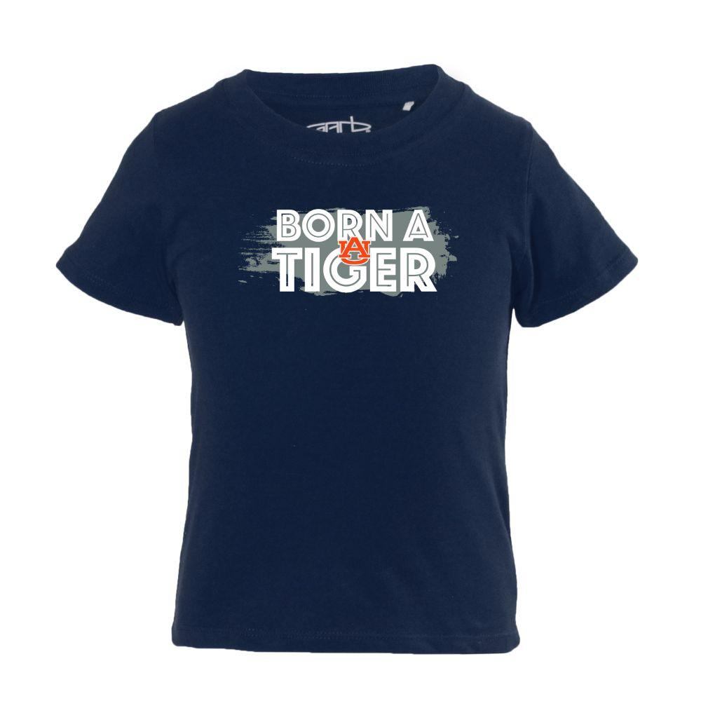 Auburn Infant Born A Tiger Fan Short Sleeve Tee