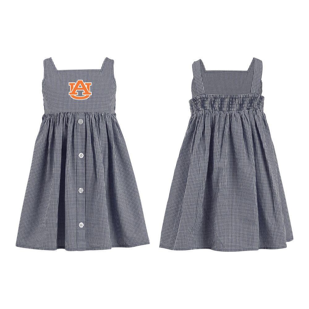 Auburn Toddler Jillian  Gingham Ruffle Dress