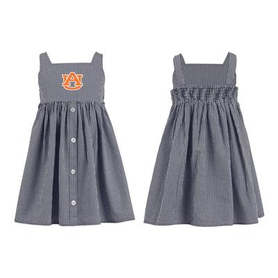 Auburn Toddler Jillian Gingham Ruffle Dress