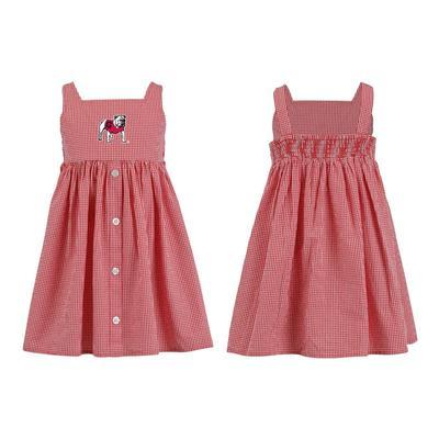 Georgia Toddler JillianGingham Ruffle Dress