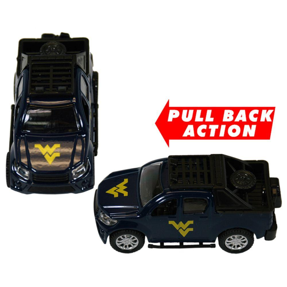 West Virginia Jenkins Pull Back Toy Truck