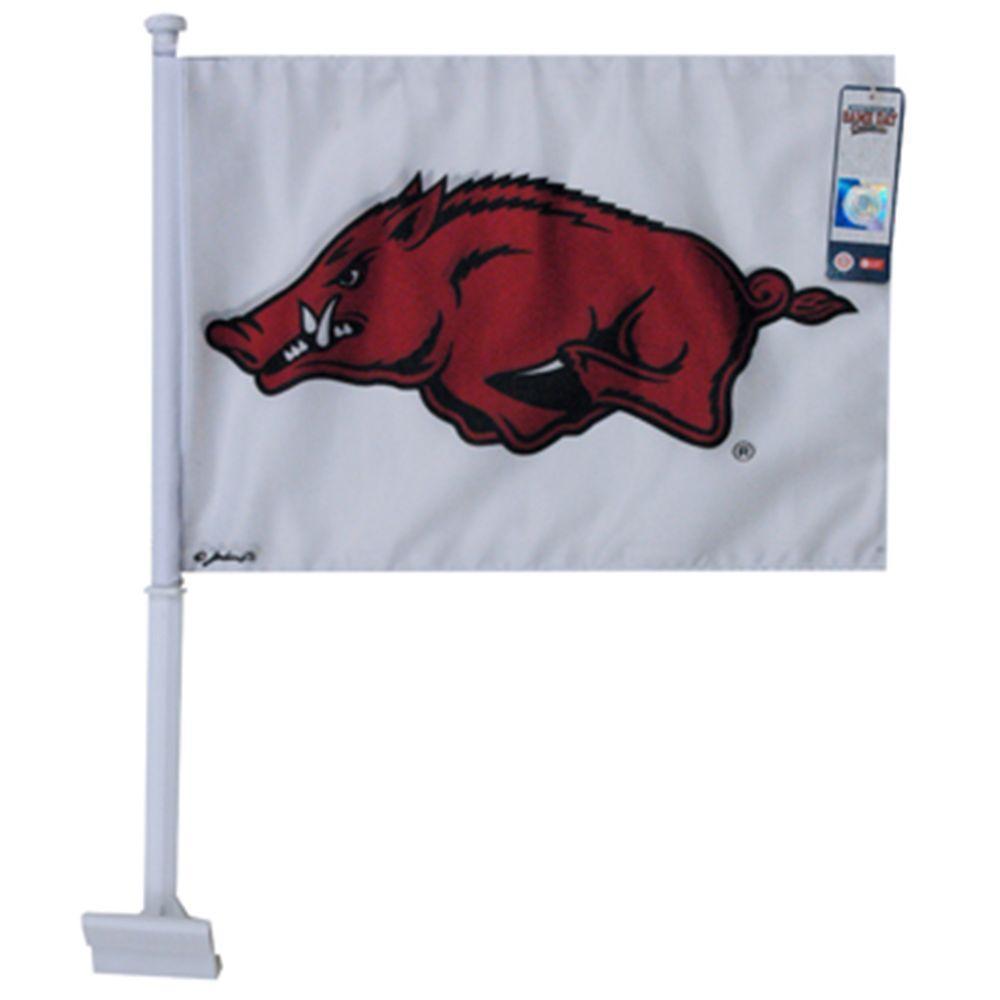 Arkansas Jenkins Hog Car Flag