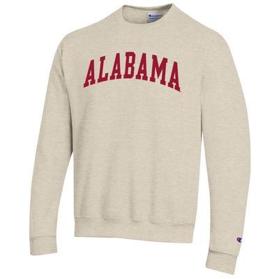 Alabama Champion Arch Logo Fleece Crew