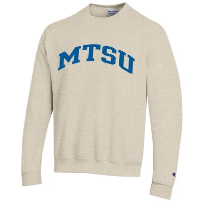 MTSU Champion Arch Logo Fleece Crew