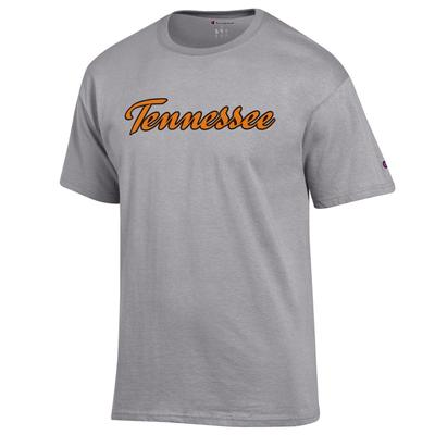 Tennessee Champion Basic Script Short Sleeve Tee