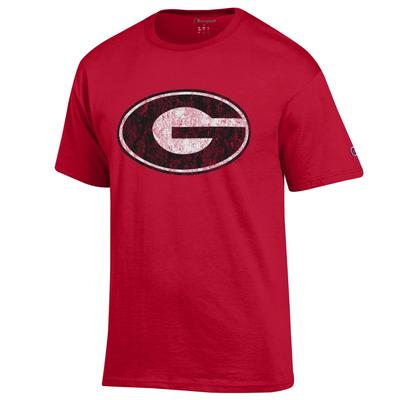 Georgia Champion Giant Logo Short Sleeve Tee