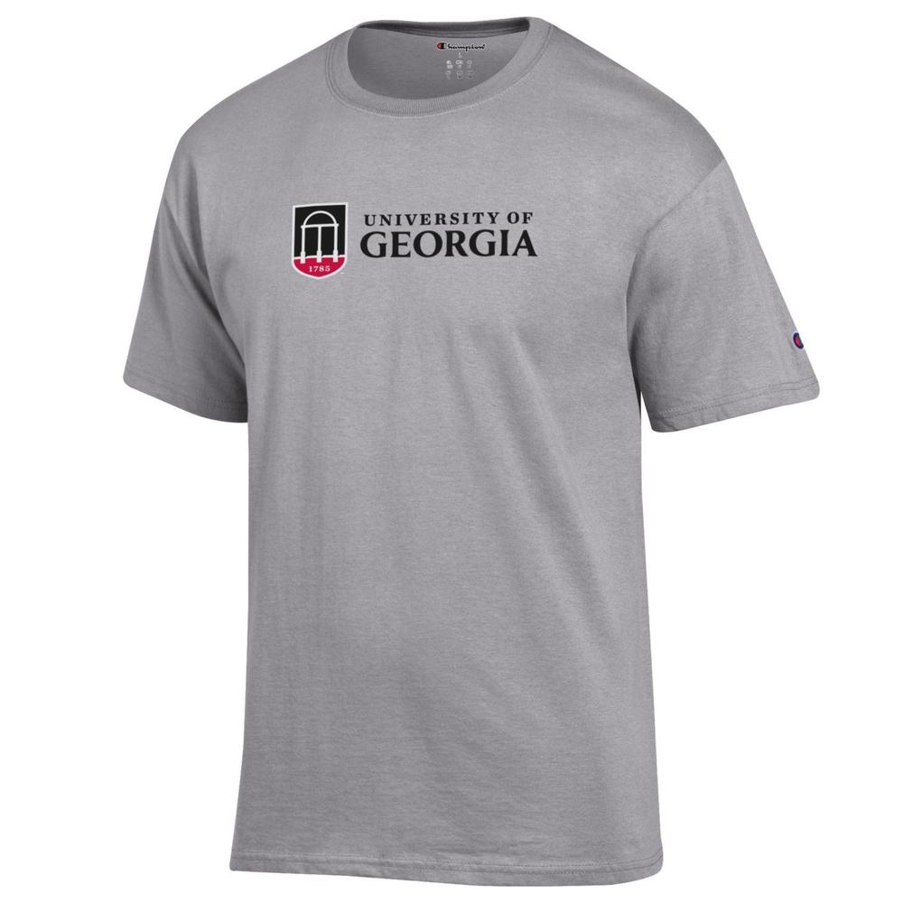Georgia Champion Institution Mark Short Sleeve Tee Shirt