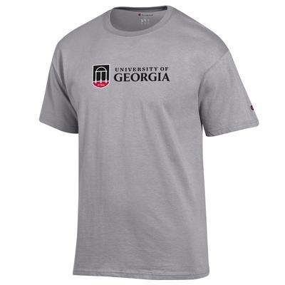 Georgia Champion Institution Mark Short Sleeve Tee Shirt