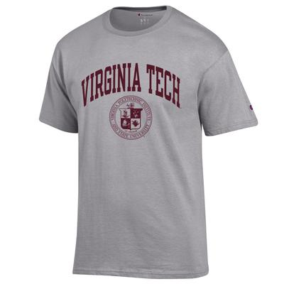Virginia Tech Champion College Seal Short Sleeve Tee