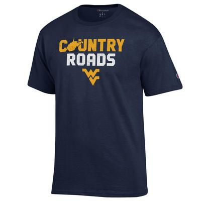 West Virginia Champion Country Roads Tee Shirt