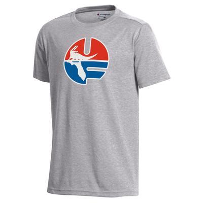 Florida Champion YOUTH Vault UF Short Sleeve Tee Shirt
