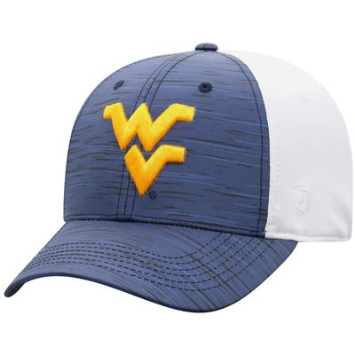 West Virginia Top of the World Two Tone Onefit Hat