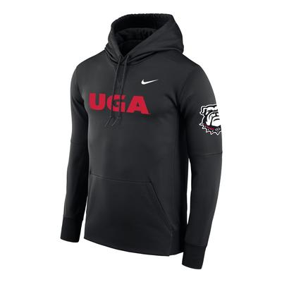 Georgia Nike UGA 100th Anniversary Therma Pullover Hoody