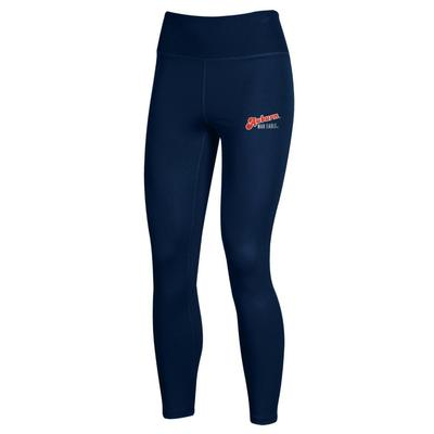 Auburn Under Armour Women's Carbonized High Waist Leggings