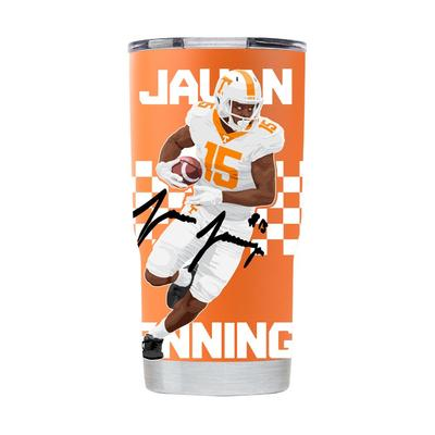 Tennessee Gametime Sidekicks Jauan Jennings 20 oz Tumbler