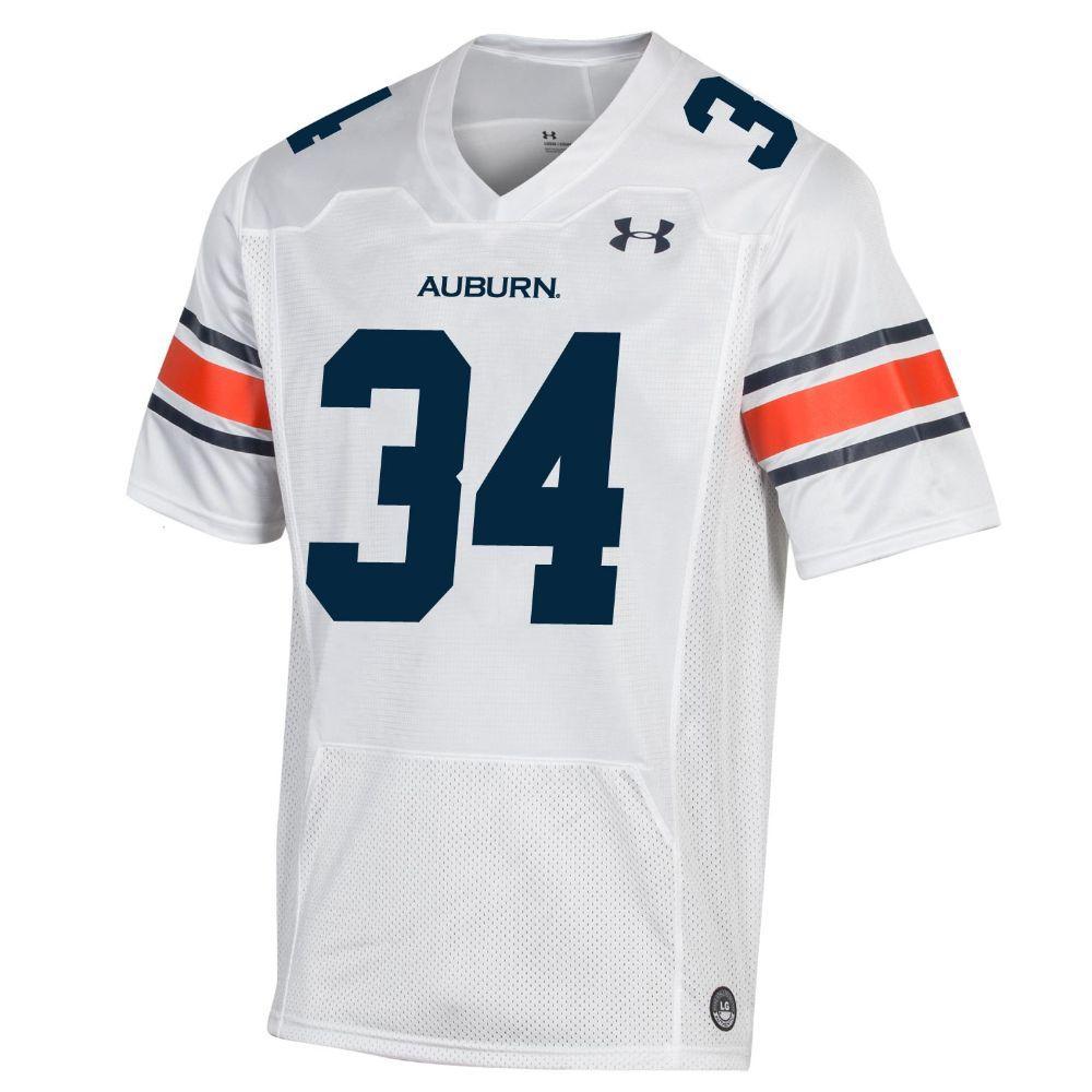 Auburn Under Armour Men's Premier Replica # 34 Football Jersey