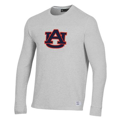 Auburn Under Armour Men's Game Day Off Grid Waffle Crew