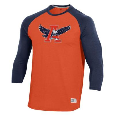 Auburn Under Armour Vault Men's Game Day Baseball Tee