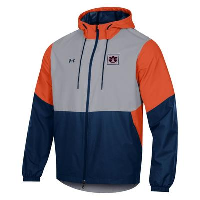 Auburn Under Armour Men's Field House Jacket