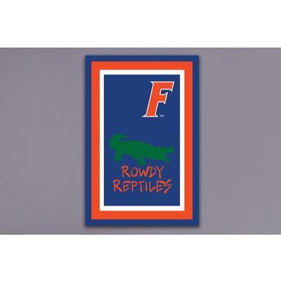 Florida Magnolia Rowdy Reptiles Garden Flag