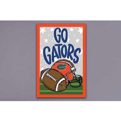 Florida Magnolia Go Gators Football Garden Flag