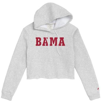 Alabama League Women's Vault Cropped Hoodie