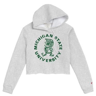 Michigan State League Women's Vault Cropped Hoodie