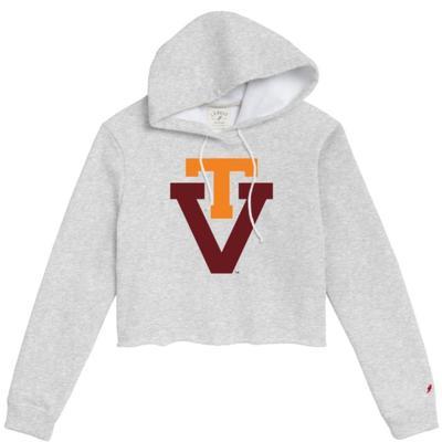 Virginia Tech League Women's Vault Cropped Hoodie