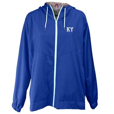 Kentucky Summit Full Zip Hooded Rain Jacket