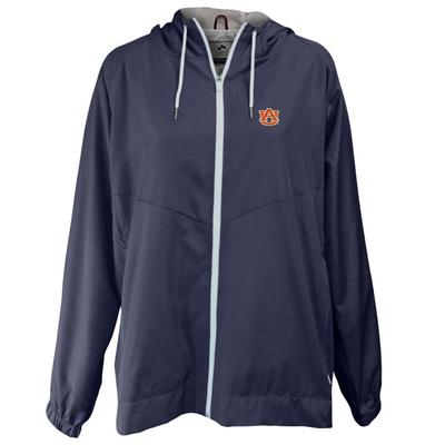 Auburn Summit Full Zip Hooded Rain Jacket