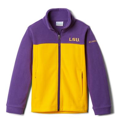 LSU Columbia YOUTH Flanker Jacket