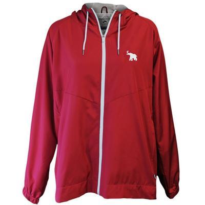 Alabama Summit Full Zip Hooded Rain Jacket