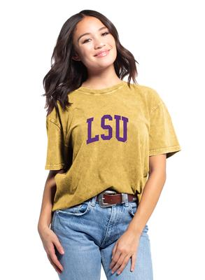 LSU Chicka-D Women's Everybody Vintage Arch Short Sleeve Tee