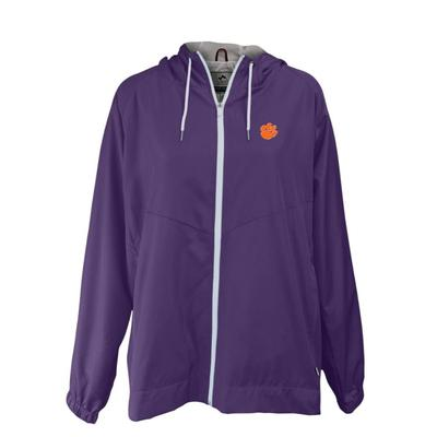 Clemson Summit Full Zip Hooded Rain Jacket