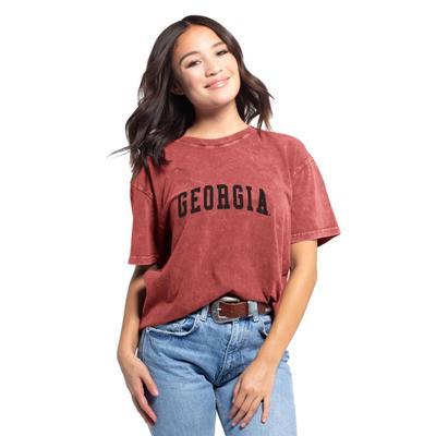 Georgia Chicka-D Women's Everybody Vintage Arch Short Sleeve Tee