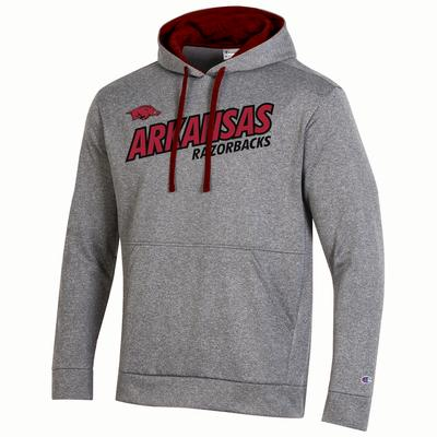 Arkansas Champion Field Day Heather Fleece Hoody