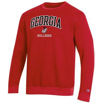 Georgia Champion CVC Fleece Sweatshirt